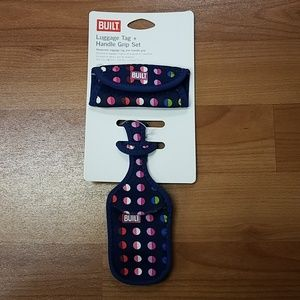 Built Luggage Tag and Handle Grip Set